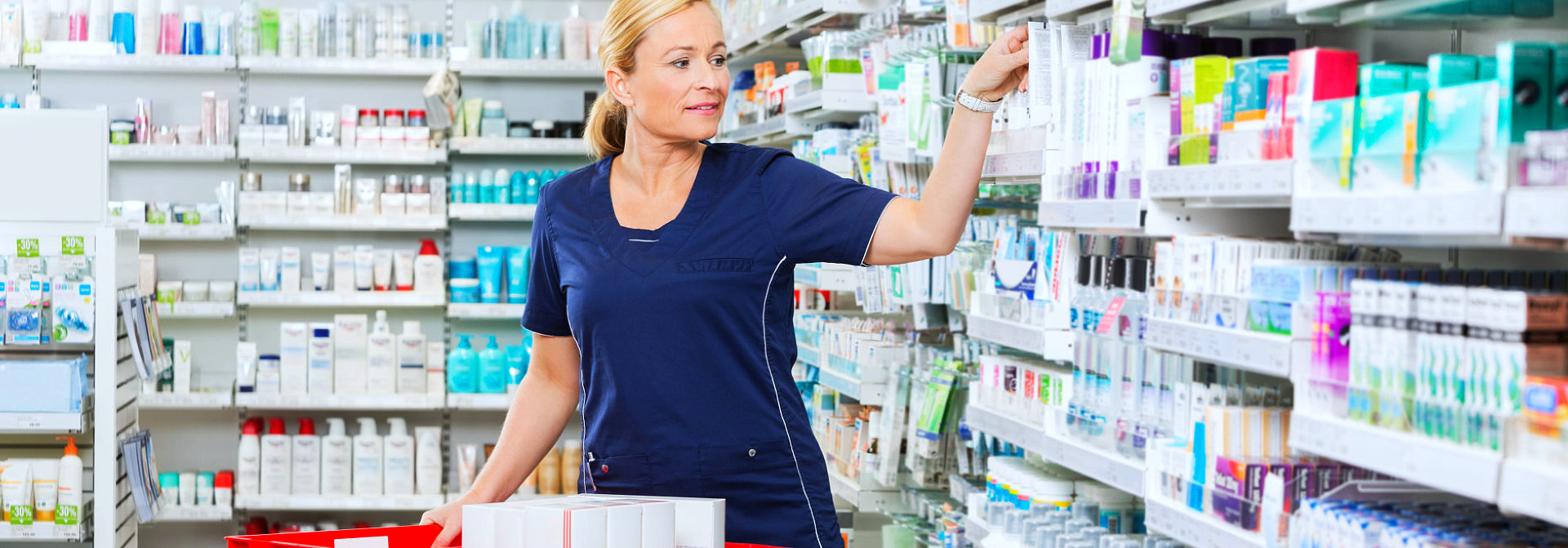 pharmacist sorting products
