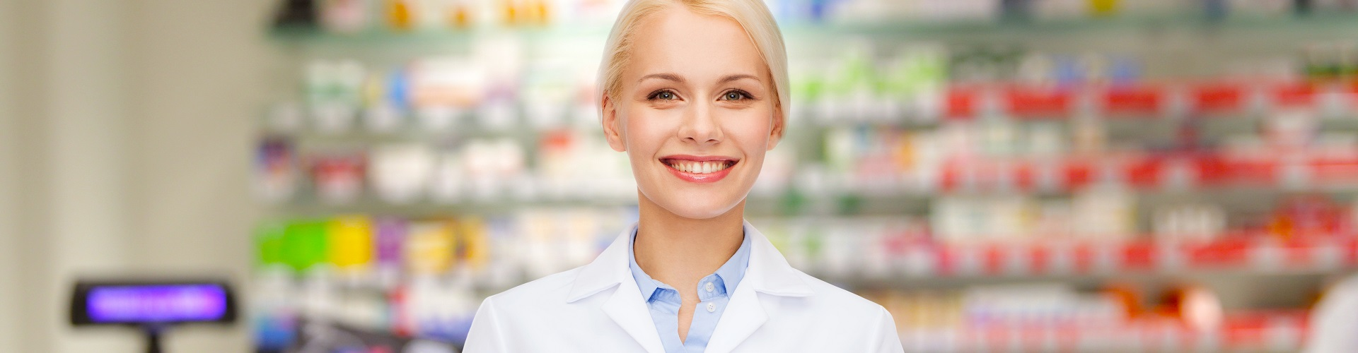 beautiful pharmacist